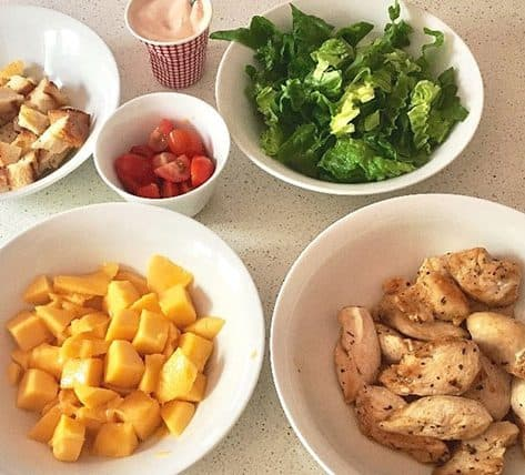 My Chicken Mango Salad Recipe Big